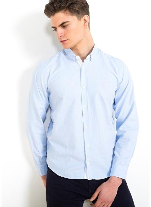 Adze Gömlek Mavi